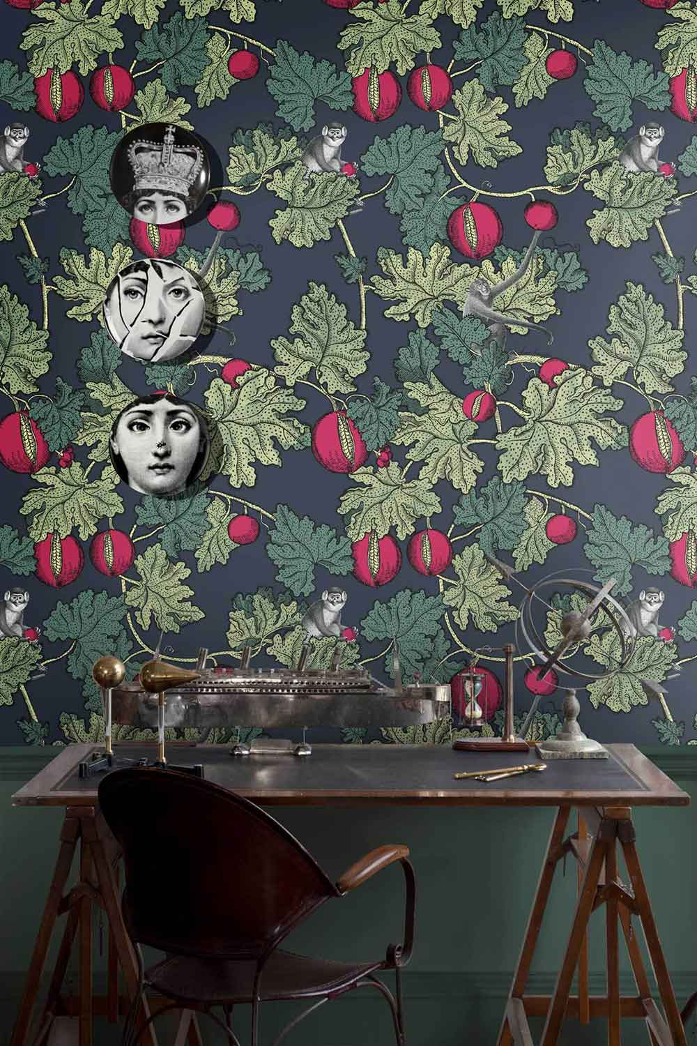 SENZA TEMPO de Fornasetti by Cole & Son = DECORACIÓN EXCLUSIVA