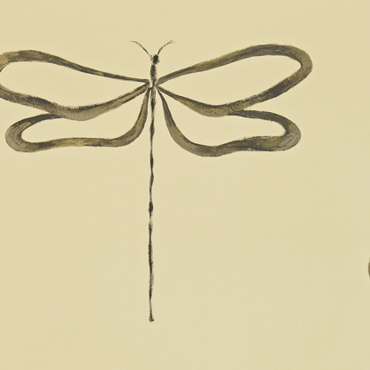 Dragonfly Gilver/Charcoal/Biscuit