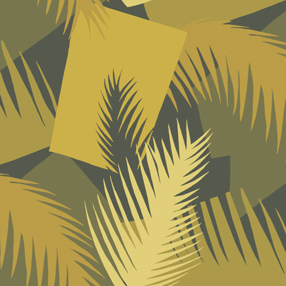 GEOMETRIC II:Deco Palm