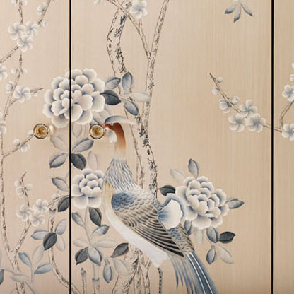 Chinoserie oiseau